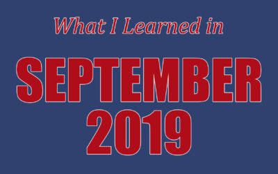 EP 173: What I Learned In September 2019